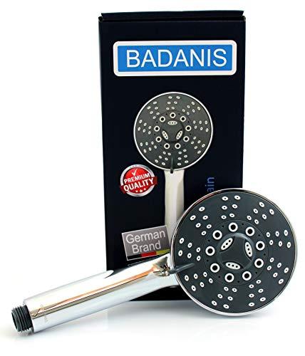 BADANIS@ Wassersparender Duschkopf - 10,5 l/min