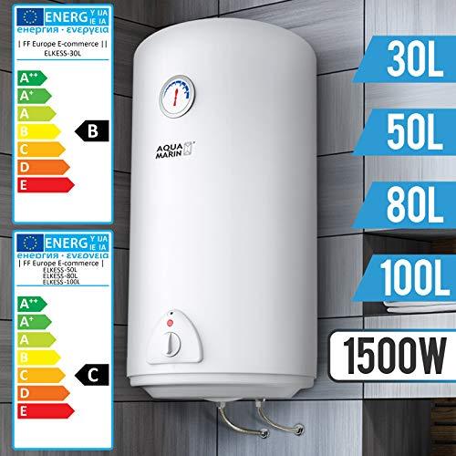 Elektro Warmwasserspeicher - Größenwahl 30,50,80,100 Liter Speicher,...